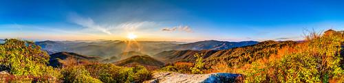 panorama usa sunrise landscape geotagged spring unitedstates hiking tennessee hdr cosby greatsmokymountainsnationalpark gsmnp ptgui photomatix crestmont sigma1020mmf456exdc mountcammerer canon7d nashvillehikingmeetup catonsgrove geo:lat=3576355711 geo:lon=8316127560