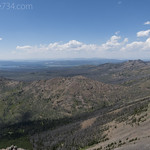 View from Avalanche Peak