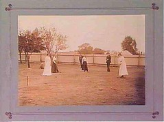 Backyard Croquet - Players Hetty Ford,Tottie Ford, Syd Coombe_im