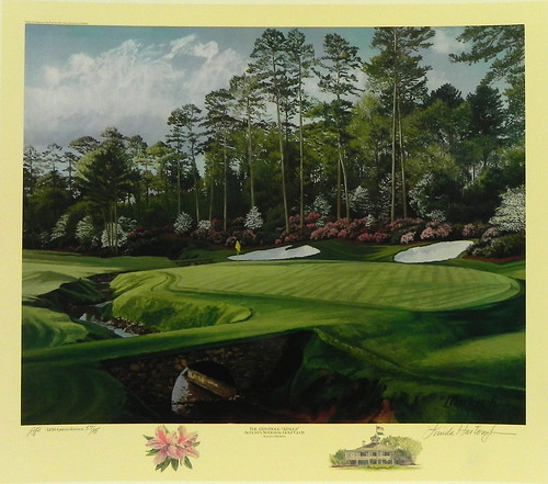 "Augusta Georgia Living: ""The 13th Hole, Azalea, Augusta National Golf Club, August"