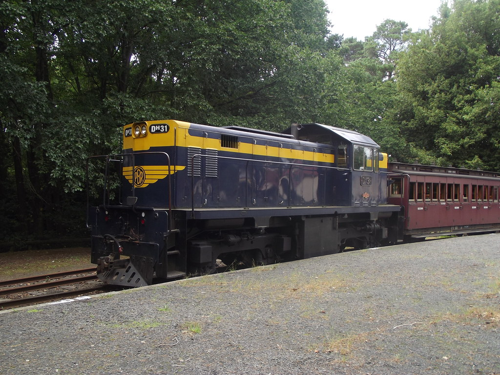 Puffing Billy Railway Australia by Dave Brown