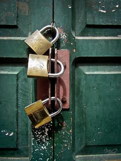 Locked?   by Michael Gabelmann