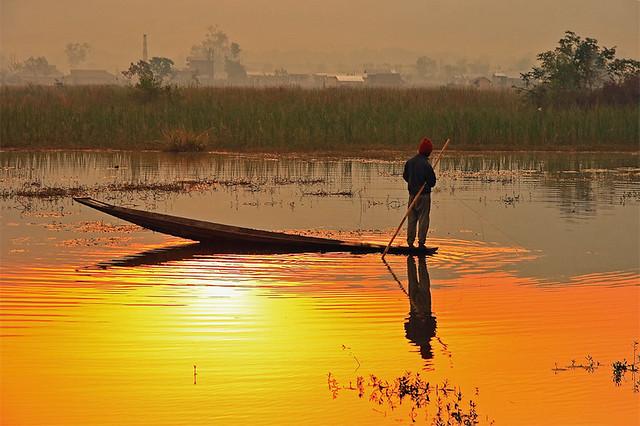 Myanmar 's fisherman