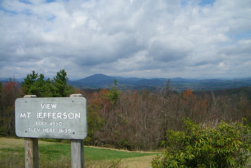 blue north ridge mount parkway carolina jefferson overlook