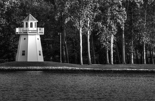 Lighthouse black and white   by j man.