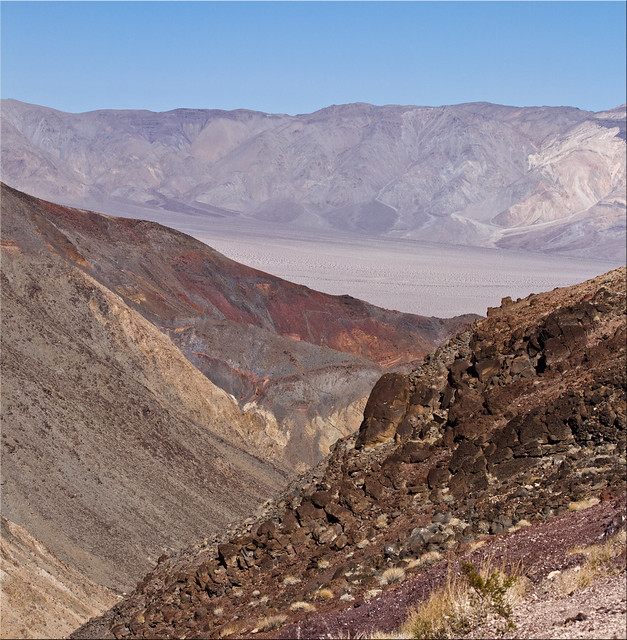 First Glimpse of Death Valley
