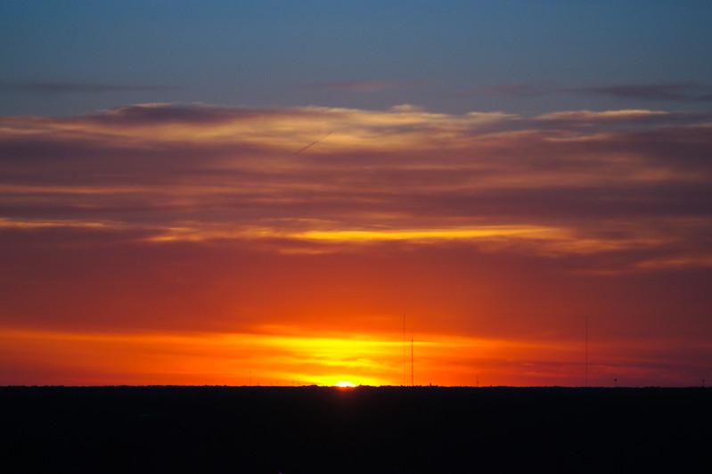 Sunset 4/20/12