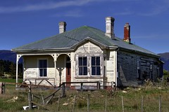 Old house, Heriot, Otago, New Zealand