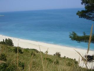 Strand beim Monte Conero