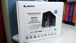 AKiTiO 雲金剛2 3.5吋 USB 3.0 2bay網路磁碟陣列外接盒   by Johnson Wang