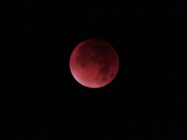 lunar eclipse 28. September 2015 view at 0242 UTC