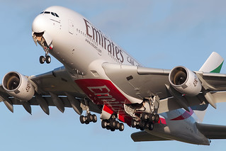 Emirates Airlines Airbus A380 A6-EDG