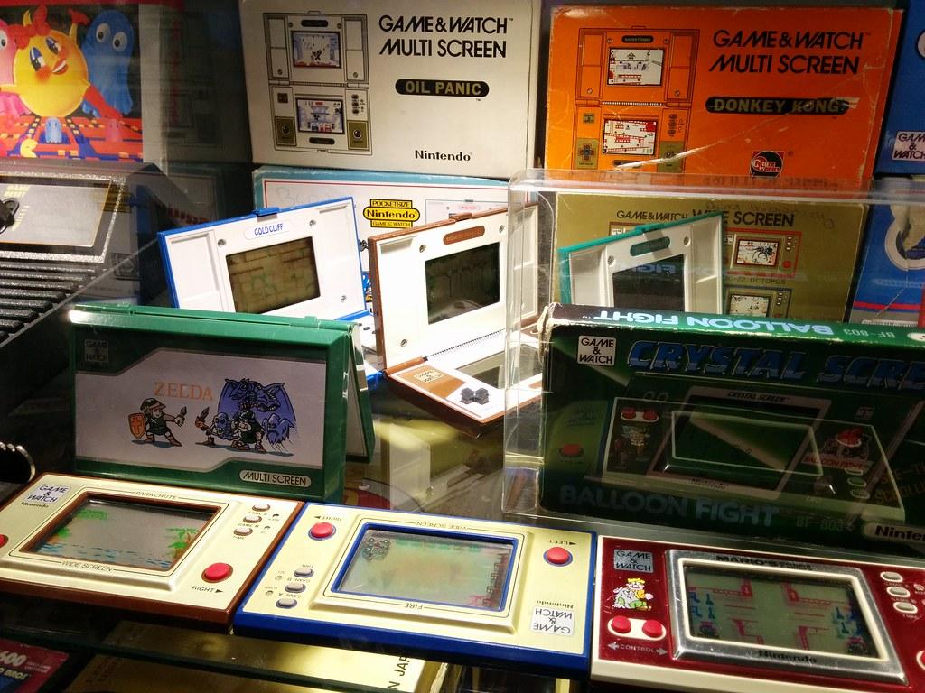 Display in The Gamesmen, Penshurst, NSW