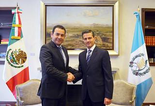 Reunión con el Presidente Electo de la República de Guatemala