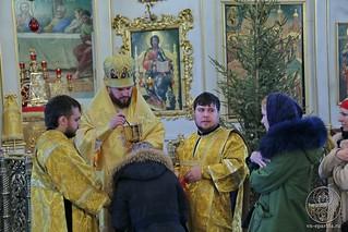 Литургия в Покровском соборе 240