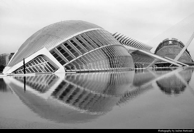L'Hemisfèric & Museo de las Ciencias Príncipe Felipe, Valencia, Spain