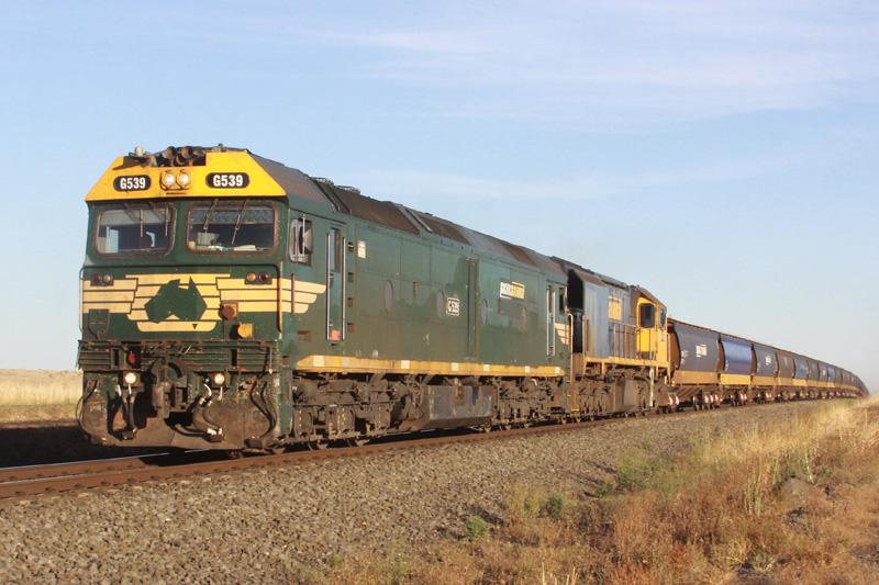 G539 & XR558 at Pura Pura by Corey Gibson