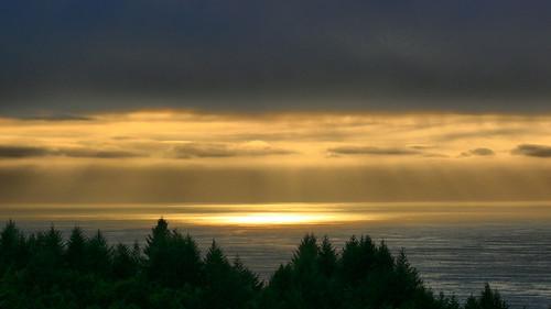 sunset rain day sheltercove californiahumboldt renedrivers rchan415