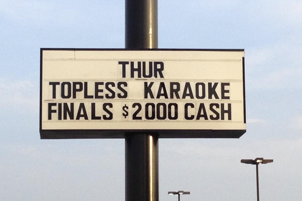 Topless Karaoke