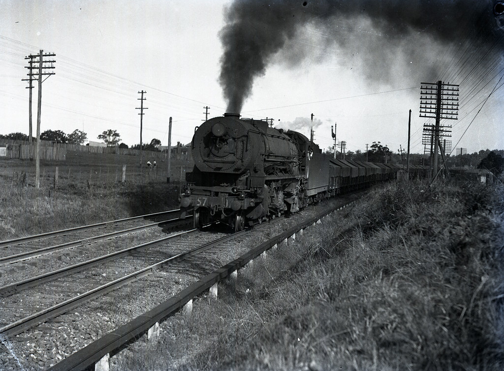 Steam locomotive D57 Class [07] 4-8-2, c1927, [NSW, n.d.] by Cultural Collections