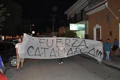 Manifestació contra les mines i en suport a Catamarca (on la policia va estomacar a alguns manifestants)