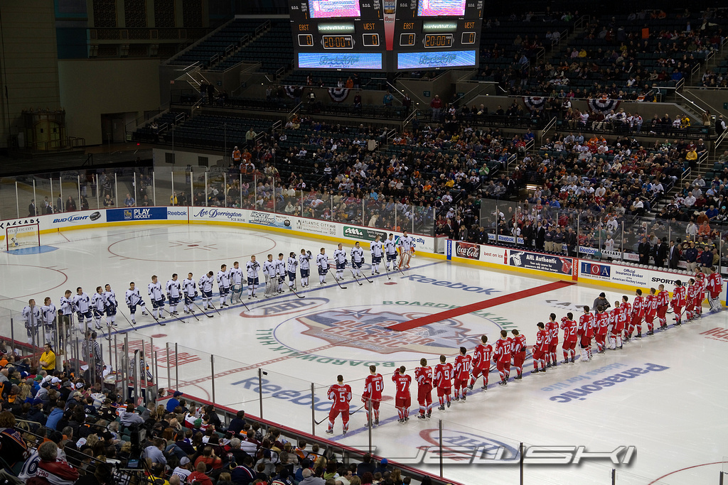 2012 Ahl All Star Game Boardwalk Hall Atlantic City Nj Flickr