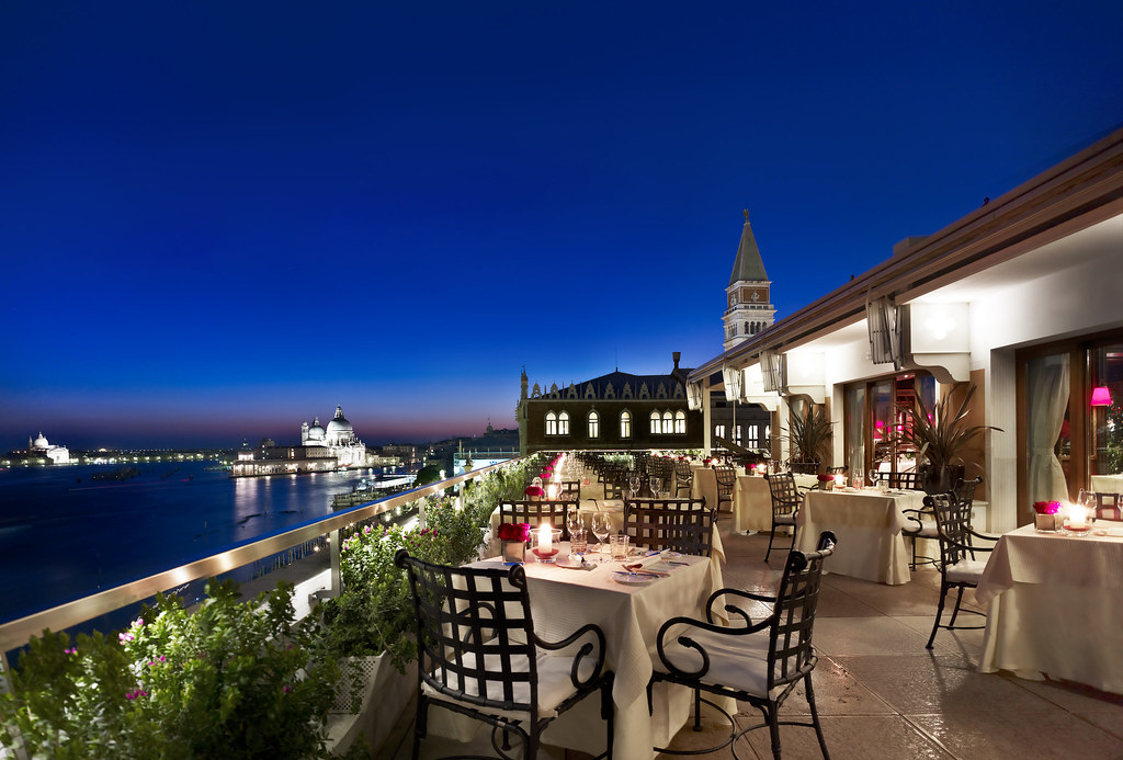 Restaurant Terrazza Danieli Enjoy The Sunset From The Priv