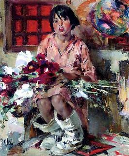 Fechin, Nicolai (1881-1955) - Tonita (Christie's Beverly Hills, 2007) | by RasMarley