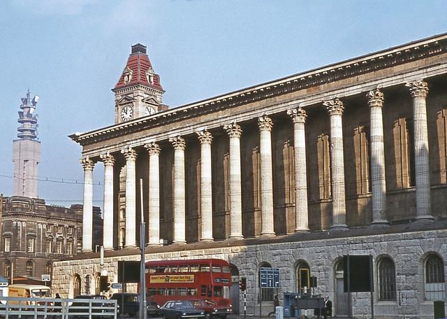 Birmingham Town Hall. February 1972