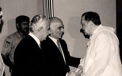 مع الأمير الحسن ولي عهد الأردن