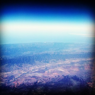 over California today. #latergram #fallingasleepagram | by sarahwulfeck