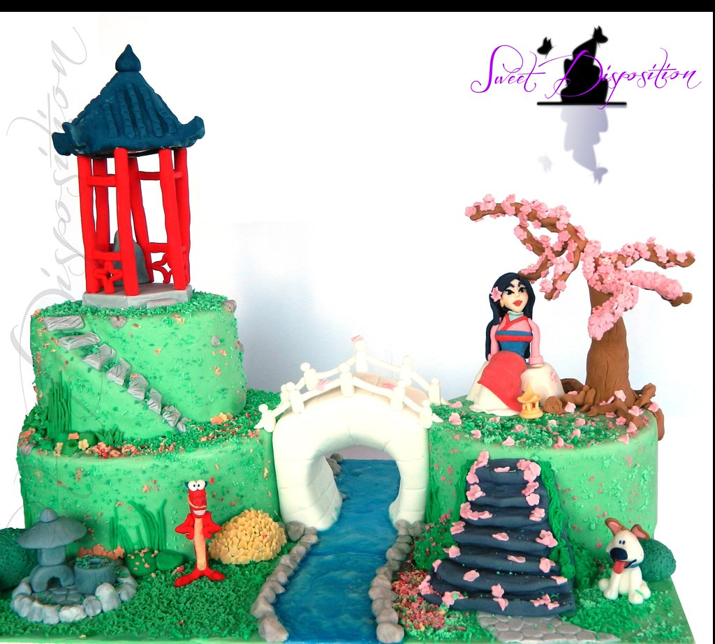 Swell Mulan Cake Visit My Facebook Page Facebook Com Pages Flickr Funny Birthday Cards Online Bapapcheapnameinfo