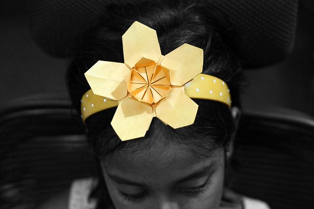 Origami Sakura Star (13,000+ views!)