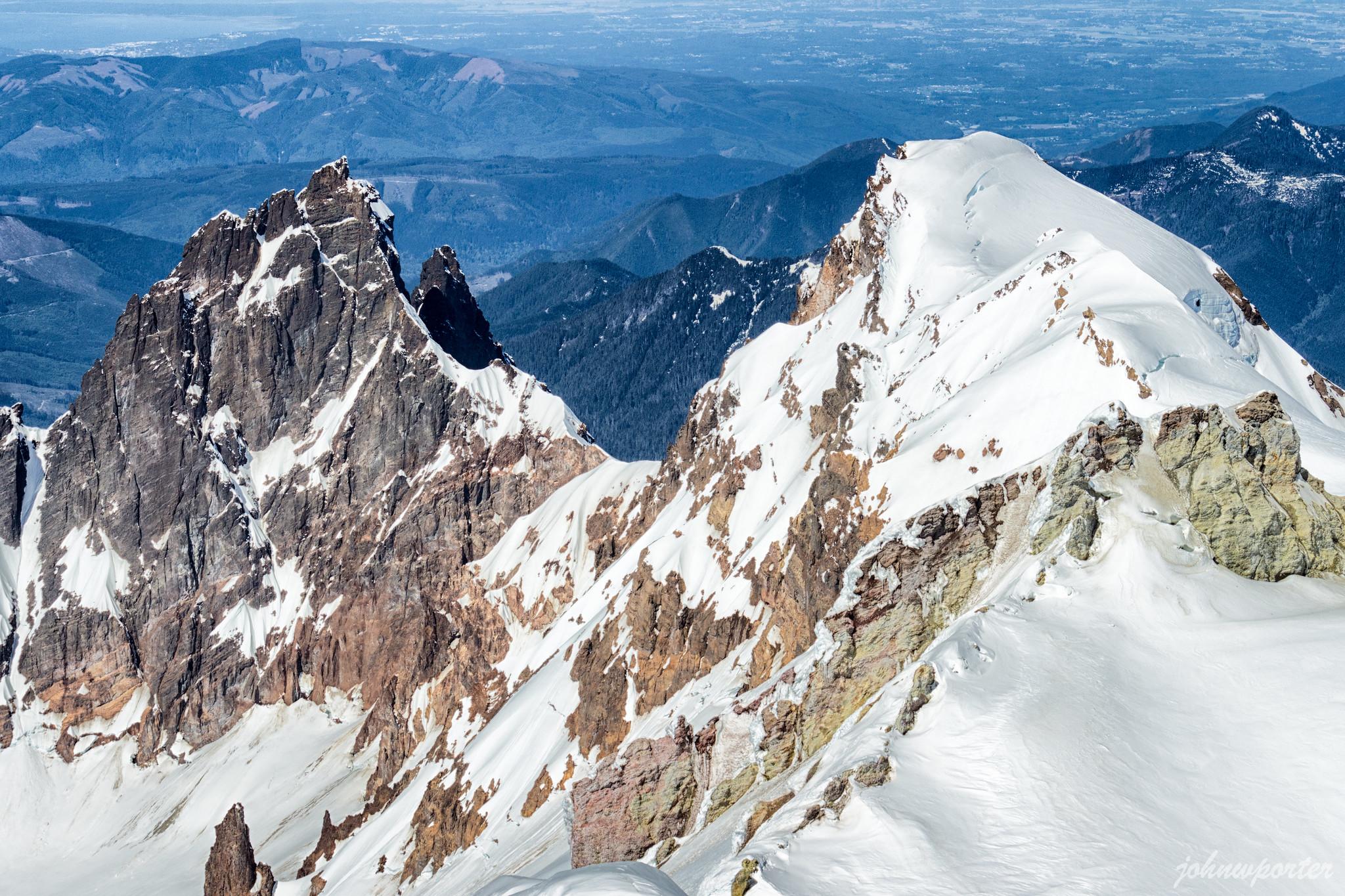 Lincoln Peak and Colfax Peak from Sherman Peak