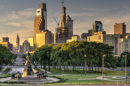 Philadelphia Parkway at sunrise | by rowensphotography