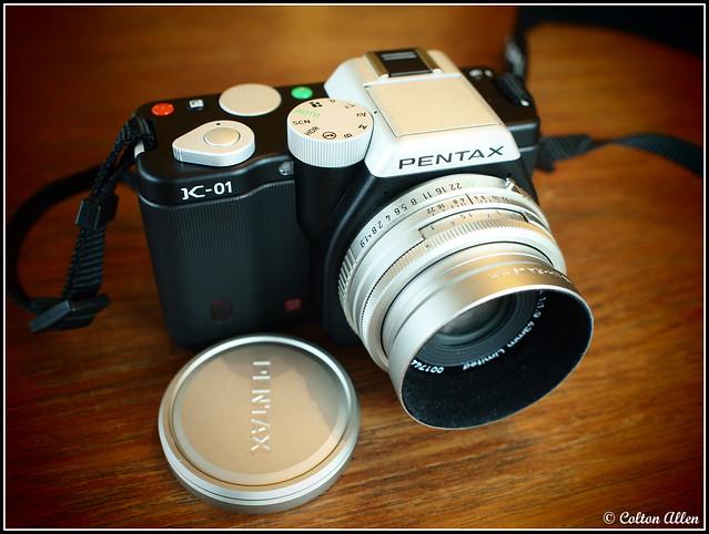 Pentax K-01 and SMC Pentax-FA 43/1.9 ltd.