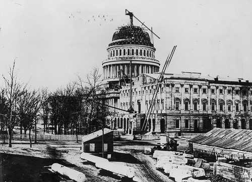 Construction of the U.S. Capitol Dome | by USCapitol