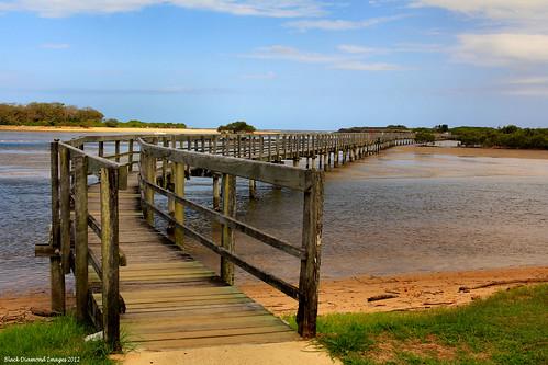 bridge beach river footbridge australia lagoon nsw bdi urunga midnorthcoast australianbridges bellingerriver kalangriver urungalagoonfootbridge