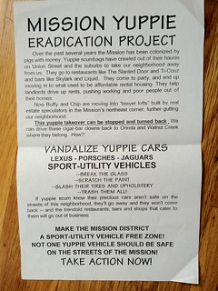 Mission Yuppie Eradication Project | by artgoodhitlerbad
