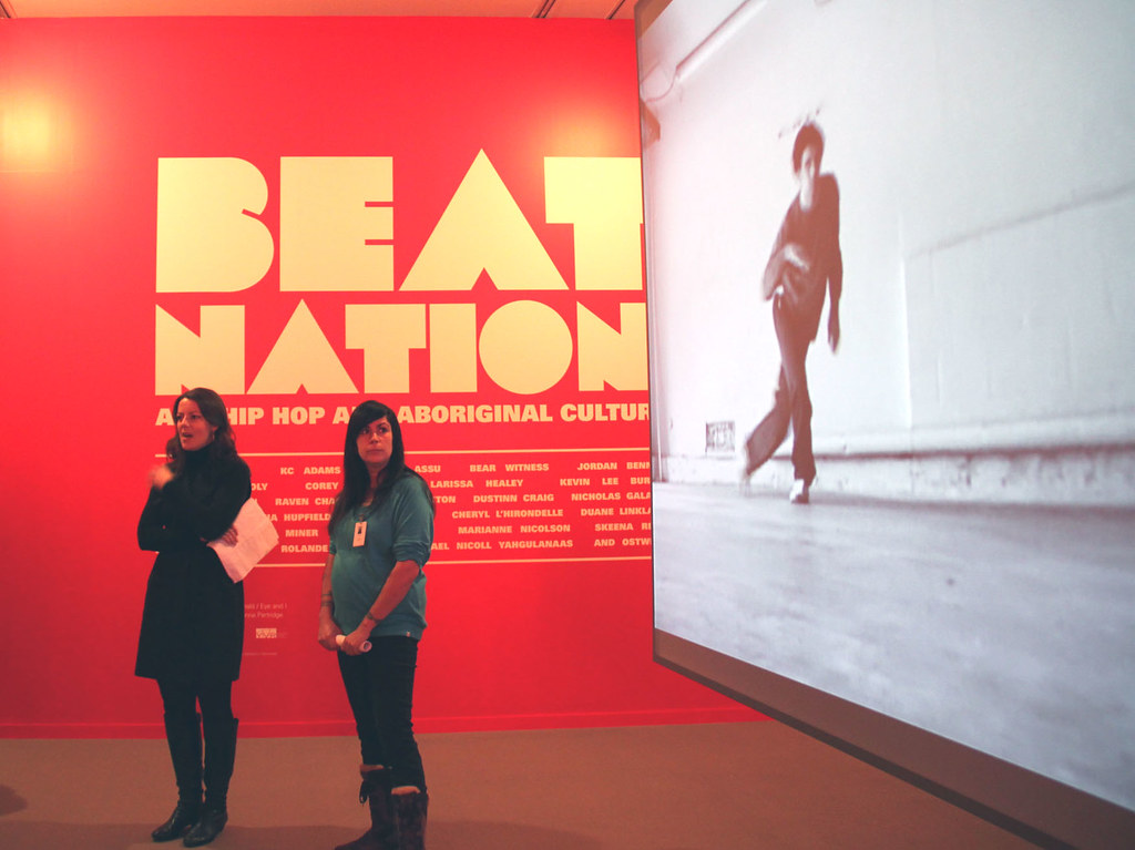 co-curators | Co-curators of Beat Nation Kathleen Ritter (le