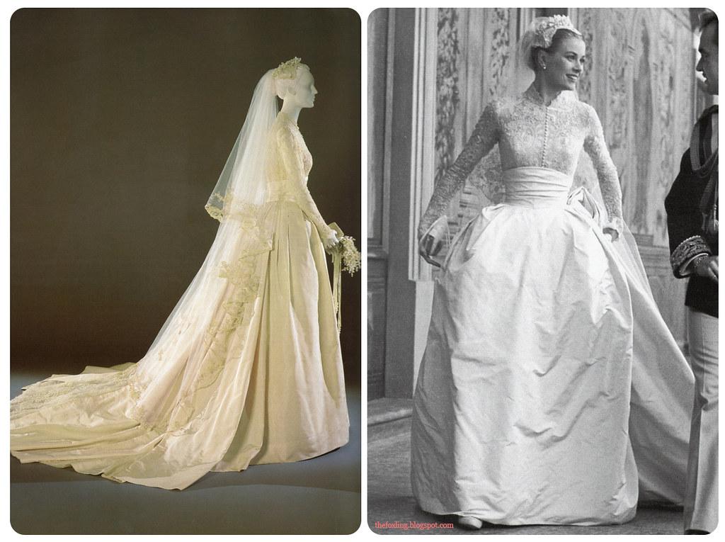 Grace Kelly Wedding Dress.Grace Kelly S Wedding Dress Blogged Thefoxling Blogspot C Flickr