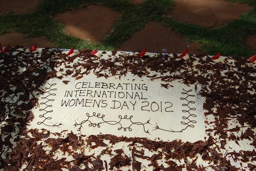 Mar/2012 - A cake to celebrate International Women's Day during a function held at the ILRI Nairobi campus on 8 Mar 2012 (photo credit: ILRI/Newton Wanga).