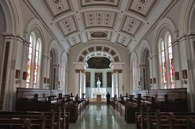 Immaculate Conception Chapel, St. Charles Borromeo Seminary, Wynnewood (Philadelphia), PA