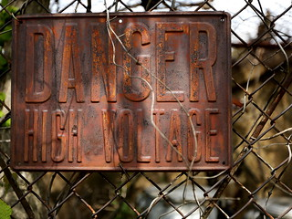 Danger High Voltage Sign | by Mr.TinDC