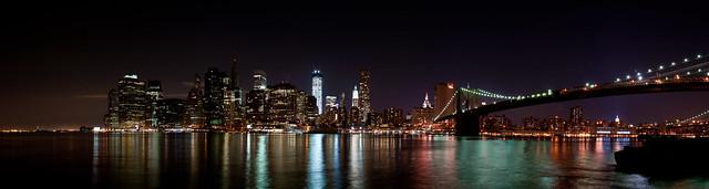 Brooklyn NYC skyline panorama 2
