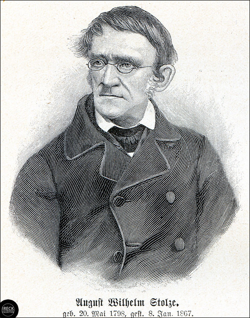 August Wilhelm Stolze, a German inventor of a shorthand writing system
