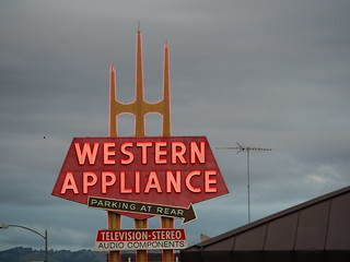 Western Appliance (Midcentury San Jose Signs)