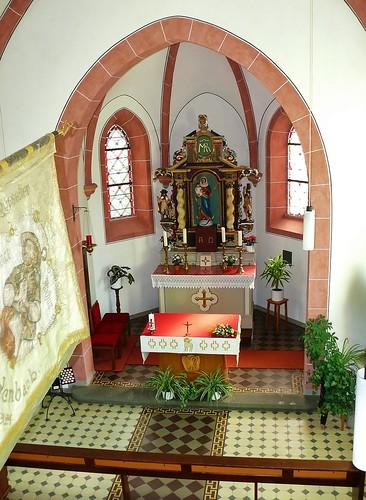 1. Innenansichten Kapelle