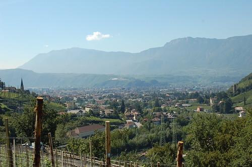 La città di Bolzano - Die Stadt Bozen | vista dall'alto ...