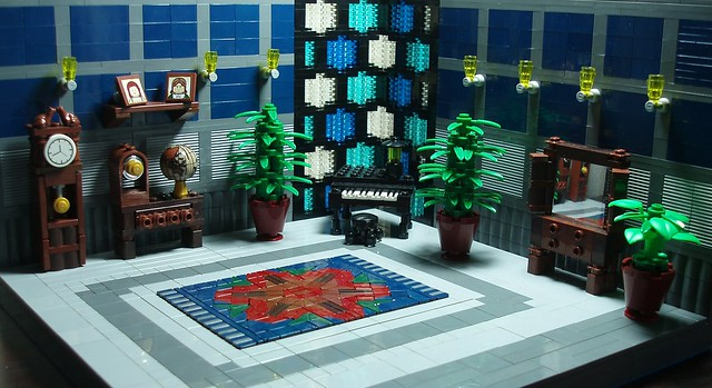 The Blue Room at Mayo Manor